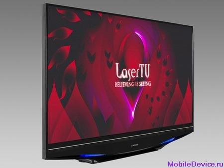 Лазерные телевизоры поступят в продажу в 2008 году
